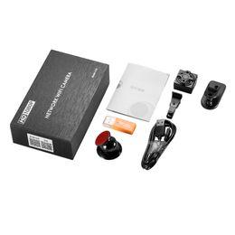 Nuova videocamera portatile di sicurezza per cameretta WiFi portatile mini 1080p con rilevamento del movimento di visione notturna per la macchina fotografica di sorveglianza per l'ufficio di casa d'affari da registratore vocale a comando remoto fornitori