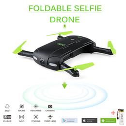 bras de morceau Promotion DHD D5 Selfie FPV Drone Avec FPV HD Caméra Pliable Poche RC Drones Contrôle Téléphone Contrôle Hélicoptère VS JJRC H37 Mini Quadricoptère Jouets