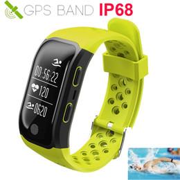 2019 misura bit HOT Swim Activity Tracker Smart Watch GPS in esecuzione cardiofrequenzimetro Cardiaco Smartwatch per / Xiaomi / Huawei PK Fit bit 3 misura bit economici
