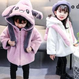 vêtements pour bébés tik tok danser lapin mignon lapin oreilles dessin animé veste parka survêtement hiver automne nourrisson enfant enfants manteau ? partir de fabricateur