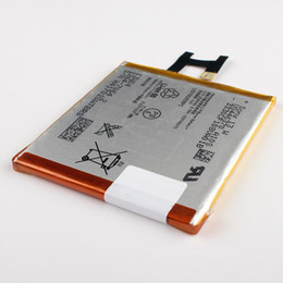 Reemplazo genuino del 100% de la batería interna LIS1502ERPC para Sony Xperia Z L36h L36i c6602 SO-02E C6603 S39H batería del teléfono 2330mAh desde fabricantes