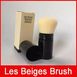 Argentina Famosa marca de lujo Les Beiges RETRACTABLE KABUKI BRUSH con paquete de caja rubor sombra de ojos maquillaje cosmético Suministro