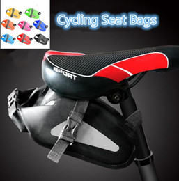 Wholesale rear panniers - Cycling Seat Bags Panniers Bags Bicycle Toolkit Bags Tail Outdoors Sports Waterproof Car kit Bag Cycling Accessories zz10