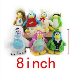 Wholesale Penguin Classics - 7pcs lot Cuter Club Penguin plush doll Childhood Baby Plush Toys Classic Doll
