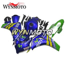 2019 kits de corpo honda fit Motocicleta Carenagens Completas Para Honda CBR1000RR CBR 1000RR 2008 2009 2010 2011 Injeção ABS Plástico 100% Fit Azul Verde Amarelo Kits Para o Corpo kits de corpo honda fit barato