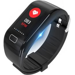 2019 tariffe cellulari Spoer Wristband New IP67 Impermeabile Bluetooth Sport Watch Running Cellulare Promemoria Monitoraggio della frequenza cardiaca Braccialetto intelligente tariffe cellulari economici