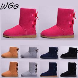 UGG Boots Bottes de neige de créateur de genou de demi-cheville pour femme fille WGG Classic coffee Black Winter Blue Boots ? partir de fabricateur