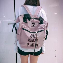 Backpacks Luggage & Bags Wishot Seventeen 17 Backpack Canvas Bag Schoolbag Travel Shoulder Bag Rucksacks For Women Girls