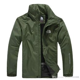 слойная куртка Скидка Новый 2019 горячий открытый весна осень куртки Andes мужчины север водонепроницаемый однослойный комбинезон пальто ветровка лицо куртка бесплатная доставка