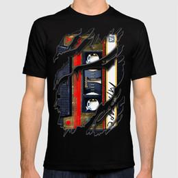 Iphone 5c t en Ligne-2018 nouveau t-shirt classique rétro Gold mix cassette cassette iPhone 4 4s 5 5c, ipod, ipad, tshirt, tasses et taie d'oreiller