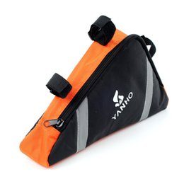 Wholesale Bicycle Frame Handle - 4Colors Waterproof Bicycle Bags,1.5L Outdoor Front Frame Head Triangle Cycling Storage Pouch Bag,Bike Bags Outdoor Accessories