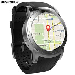 2019 relógios inteligentes 3g wifi Beseneur 3G WIFI GPS relógio inteligente 2018 Heart Rate Monitor Sim Card Smartwatch para Android Phone Wearable Devices relógios inteligentes 3g wifi barato