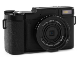 2019 cámaras digitales telefoto Cámaras digitales profesionales de la mitad-DSLR de HD 24MP con la cámara macro HD de la lente granangular de Telephoto Fisheye 4x rebajas cámaras digitales telefoto