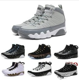 Wholesale Gloves Boots - 2017 9 Basketball Shoes PINNACLE PACK BASEBALL GLOVE BLACK Brown 9s Discount Men Basketball Sneakers Boots High Quality