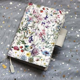 Wholesale paper cover book - Classic Leberty Cloth Cover Hobonichi Stlye A5 A6 Suit For Standard Fitted Paper Book
