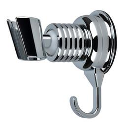 Вакуумный крючок онлайн-Кронштейны для крепления к душу Угол Регулируемая вакуумная присоска Ручной кронштейн для душа Настенный держатель для ванной комнаты с крюком