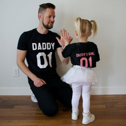 af0810ba8 Family T-Shirts DADDY & DADDY'S GIRL Father & Daughter T shirt Tops Family  Matching Tee Clothes Father and Daughter Matching Clothes Summer