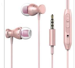 auriculares construidos mp3 Rebajas MT1 3.5mm Auriculares estéreo Construir en el micrófono del auricular del Deporte MP3 Auriculares para juegos de PC para el teléfono Android