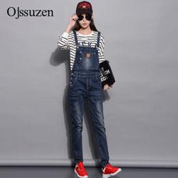 45cb3b4df2 Spring Denim Jumpsuits Women 2018 Fashion Summer Romper Long Pants  Elasticity Jeans Overalls For Women Jeans Bodysuits Ladies