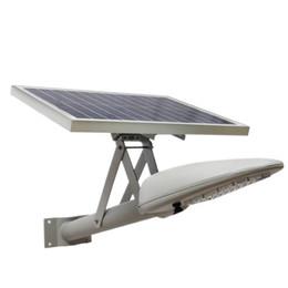 Wholesale Quality Solar Panels - High Quality 20W Solar Powered Panel Led Remote control Duckbill Flood Lights outdoor floodlight Garden Street light courtyard Wall lamp