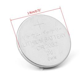 Células cr on-line-1 Pc CR2032 CR 2032 Botão Da Bateria Da Moeda Para A Calculadora de Bolso Escala Relógio Remoto 3 V