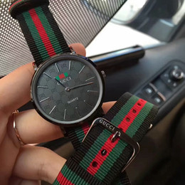 Wholesale Couples Watches - 2018 New Popular Commercial Fashion Sports Luxury Brand High Quality Nylon Men's Casual Couples Watches