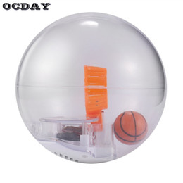 Wholesale Led Light For Shooting - 2018 New Basketball Toys for Children Adult Basketball Game Anxiety Stress Shooting Toy LED Light Music Handheld Funny Machine