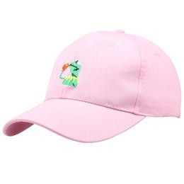 11bd78a1bb6 China Wholesale 4 Colors Frog Meme Gorras Cotton Snapback Caps Autumn  Casquette Baseball Cap Designer Hats