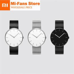 Женские водостойкие часы онлайн-Xiaomi TwentySeventeen Analog Quartz Wrist Watch 39mm Luminous 3ATM Water Resistant Fashion Elegant Men Women  Watch band