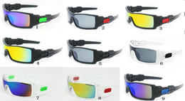 Wholesale Oil Frame - 9 Colors Brand oil rig Sunglass Men's Designer Sun Glasses Women Fashion Style Eyewear Goggles Sunglasses Outdoor Sports Cycling Sunglasses.