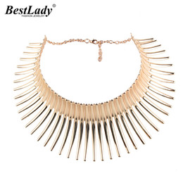 Wholesale Choker Vintage Brand Necklace - whole saleBest lady Hot Brand Wholesale Maxi Choker Necklace for Women Vintage Jewelry Special Design Collar Statement Necklace Bijoux