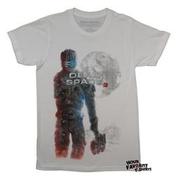 Camisa muerta online-Detalles zu Dead Space 3 Isaac Clarke personaje gamer con licencia camiseta para adultos Divertido envío gratis regalo ocasional unisex