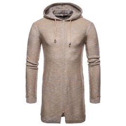 2018 Fall New Mens Hipster Hip Hop sudadera con capucha larga suéter de manga  larga ropa urbana de la manera nueva moda urbana para hombre en venta 7fb42a38776