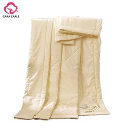 Wholesale Hotel Quilts - Luxury 100% Natural Mulberry Silk Comforter for Summer Queen Full Twin size Duvet Blanket Quilt edredom Filler Bedspread Bedding