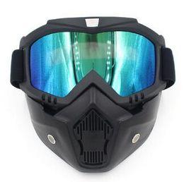 Argentina 5 colores disponibles dirt pit bike motocross scooter parte retor motocicleta gafas con máscara moto gafas para KTM gafas de motocross Suministro