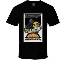 Camiseta fantasma del cartel de película de la década de 1970 desde fabricantes