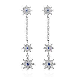 Orsa jóias on-line-JÓIAS ORSA ED316 Nova Chegada de Luxo Naked Áustria Cristal ESTRELA Brinco Grande Design de Moda Jóias Por Atacado