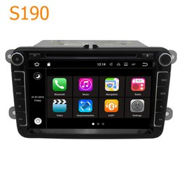 Wholesale Gps For Vw Golf - Winca S190 8 inch Android 7.1 Quad Core CPU 2 Din Car Radio DVD Player GPS Navigation Head Unit for VW Scirocco Golf EOS Rabbit T5 Caravelle
