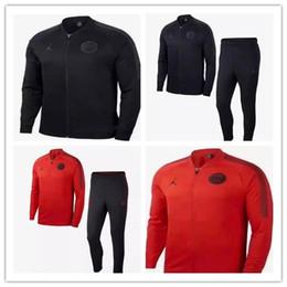 Jordam X Traje de chaqueta Jordam Champions League Survetement 18 19 Chaquetas de fútbol PSG MBAPPE Chándal de fútbol POGBA desde fabricantes