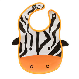 Wholesale Green Modeling - Cartoon animal modeling baby bibs saliva waterproof three-dimensional feeding disposable baby rice puddle maternal and child supplies