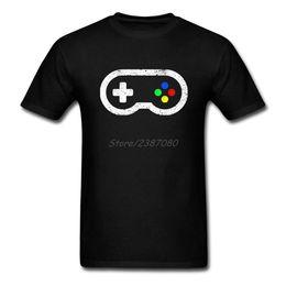 Wholesale Oyun Denetleyicisi T Gömlek Özel Kısa Kollu Giysiler Erkekler Için Yeni Erkek Arkadaşı Için Pamuk Crewneck XL T Shirt Boys