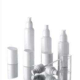 2019 plastiksprayflasche weiß 30ml 50ml 60ml 100ml Wasserflaschensprayflaschen Emulsionsflasche HAUSTIER weißes Plastikpumpenflaschenverpacken schnelles Verschiffen günstig plastiksprayflasche weiß