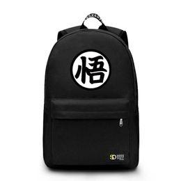 bf0d0202538f 2018 High Quality Japanese Anime Dragon Ball Backpacks Goku Backpack School  Bags For Teenagers Casual Bag