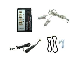 dispositivo di sesso del clip Sconti bdsm bondage gear electro shock giocattoli del sesso elettrico dispositivo di terapia shock shock kit clip orecchio rotella rullo tortura vaginale per le donne