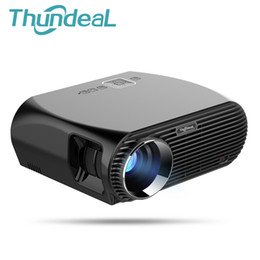 Wholesale Hd Game Projector - ThundeaL GP100 UP Video Projector 3200 Lumens Android 6.0.1 WIFI Bluetooth Home Theater Projector 1080p HD Movie Game Beamer
