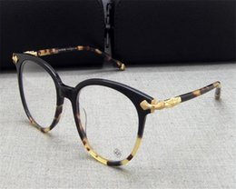 69ef22b3816 DOWER ME Unisex Retro Fashion Brand Design Acetate Full Rim Round Eyeglasses  Leopard Black Optical Eyewear UV Frame