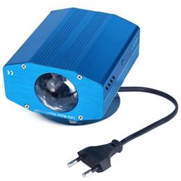 Синий вода волна эффект пульсации проектор 3 Вт светодиодный свет этапа для партии световое шоу домашнее развлечение КТВ фон от Поставщики эффект пульсации воды освещение