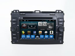 Wholesale toyota prado android - Toyota Prado 120 Android or WinCE System Double Din Car Dvd Player With Bluetooth Radio OBD TPMS Mirror-Link