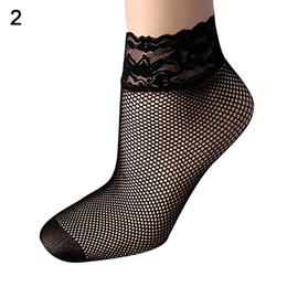 Femmes été sexy élastique ultra-mince dentelle résille maille courte cheville chaussettes ? partir de fabricateur