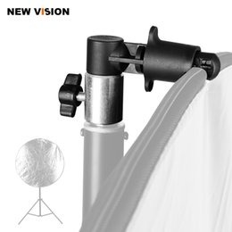 Wholesale Photo Discs - Holder Bracket Swivel Head Reflector Disc Arm Support   Photo Video Photography Studio Reflector Disc Holder Clip for Light